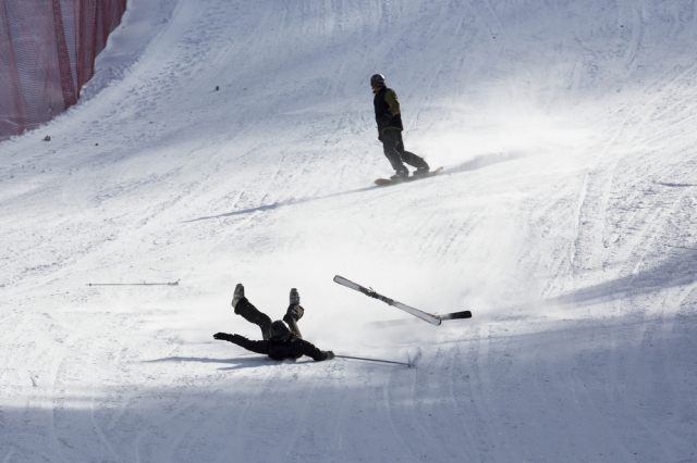 How I lived boldly and fearlessly on the ski slopes